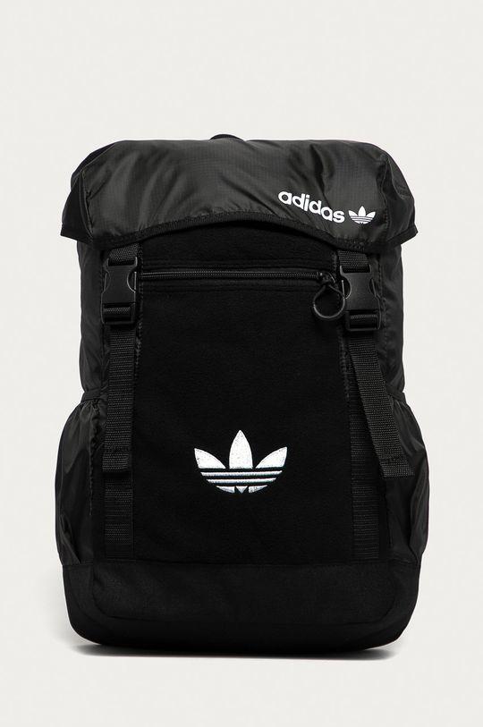 czarny adidas Originals - Plecak Męski