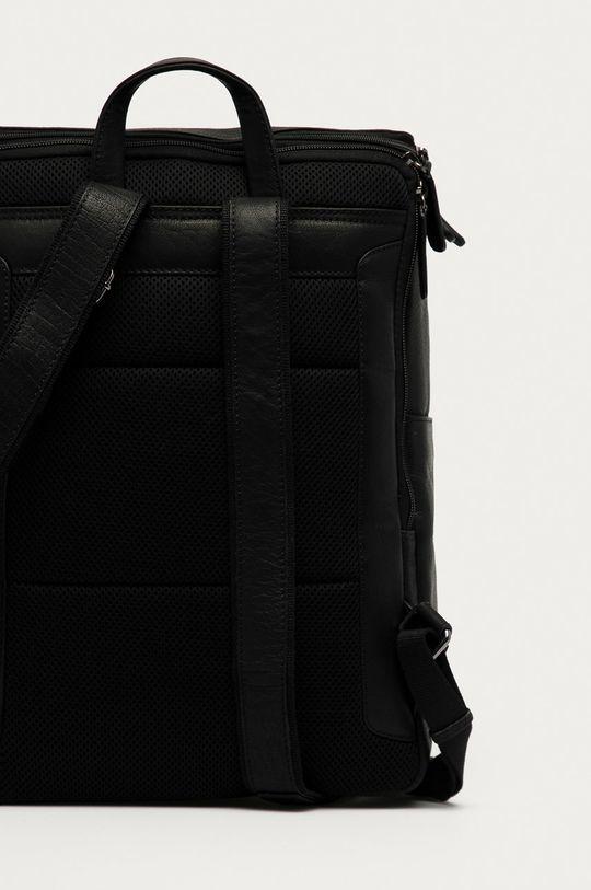 černá Strellson - Kožený batoh