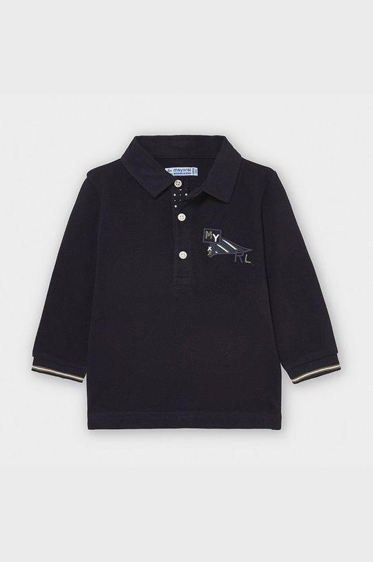 tmavomodrá Mayoral - Detské tričko s dlhým rukávom 74-98 cm Chlapčenský