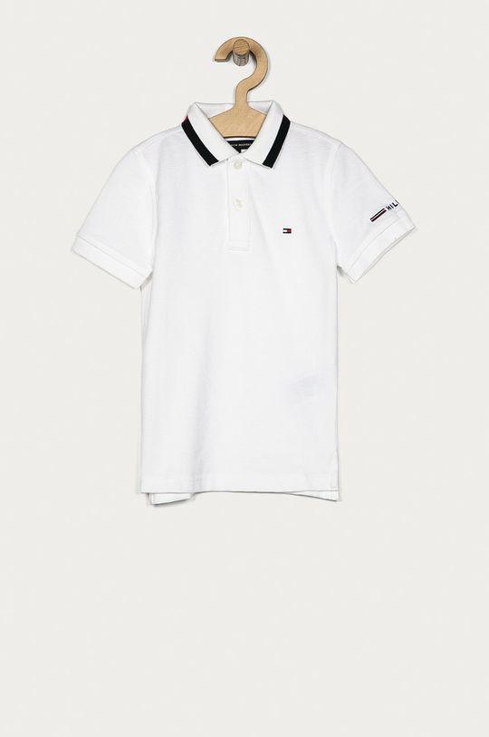 biela Tommy Hilfiger - Detské polo tričko 110-176 cm Chlapčenský