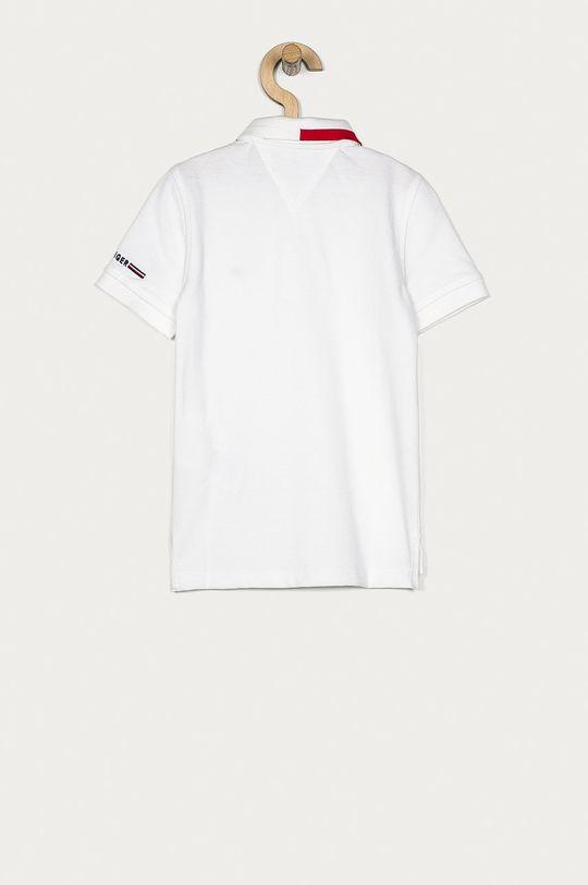 Tommy Hilfiger - Detské polo tričko 110-176 cm biela