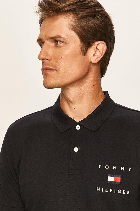 granatowy Tommy Hilfiger - Polo