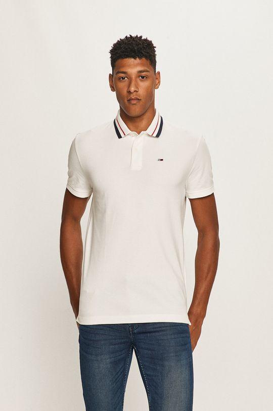 biały Tommy Jeans - Polo