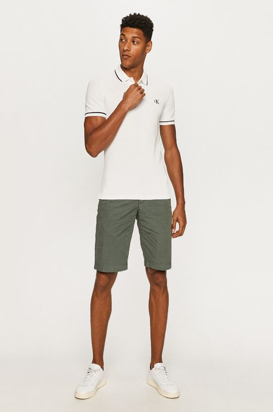 Calvin Klein Jeans - Polo biały