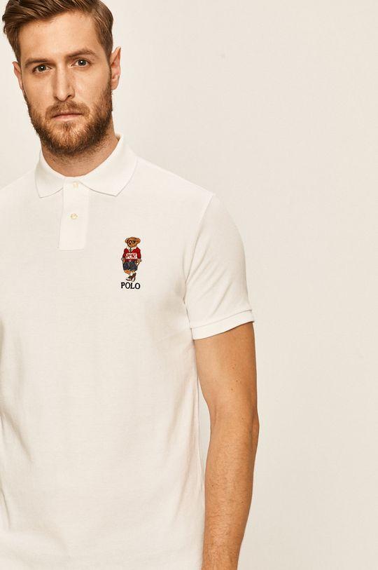 bílá Polo Ralph Lauren - Polo tričko Pánský