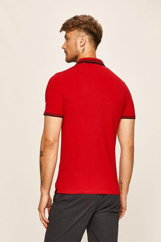 Guess Jeans - Polo tričko  95% Bavlna, 5% Elastan