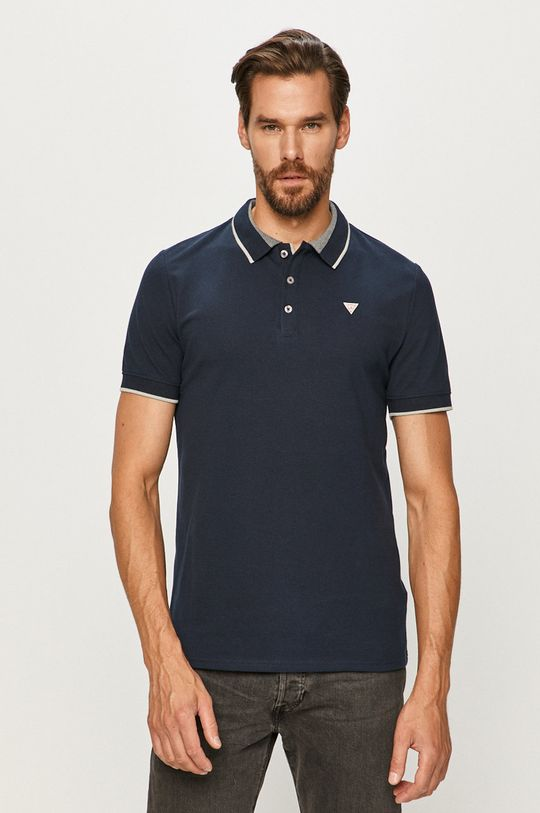 granatowy Guess Jeans - Polo
