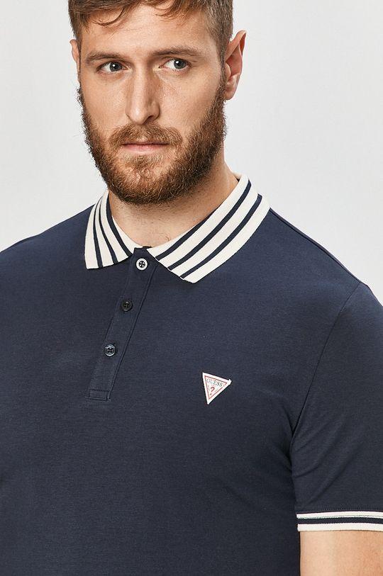 námořnická modř Guess Jeans - Polo tričko