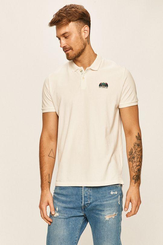 biela Pepe Jeans - Polo tričko Corwin Pánsky