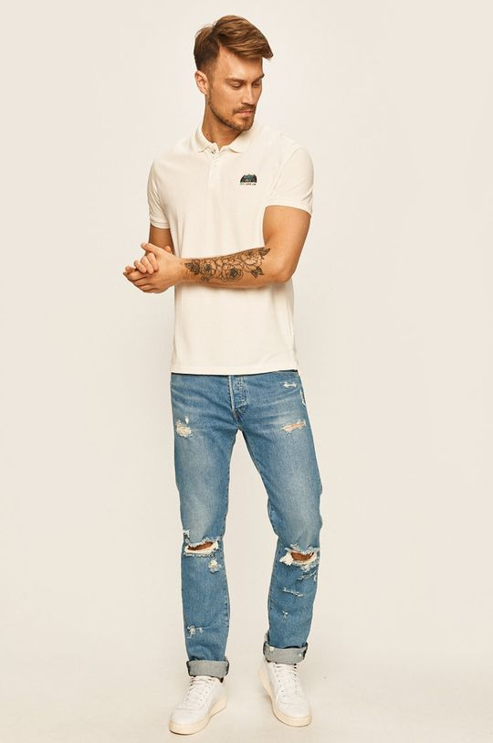 Pepe Jeans - Polo tričko Corwin biela