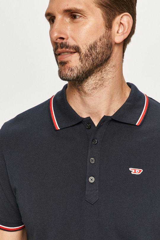 námořnická modř Diesel - Polo tričko