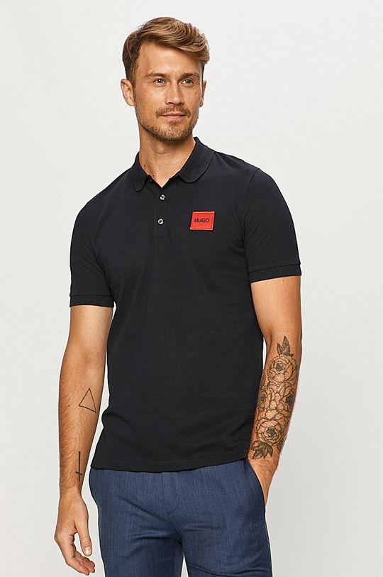 tmavomodrá Hugo - Polo tričko Pánsky