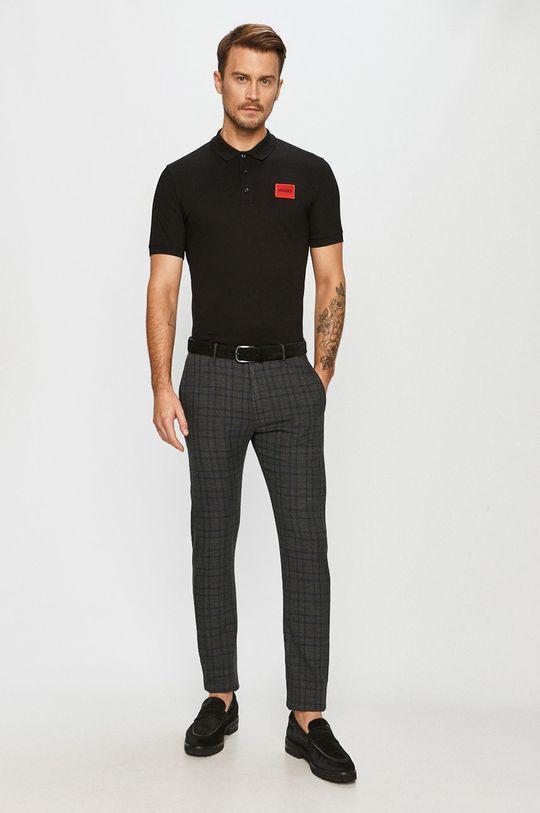 Hugo - Polo tričko čierna