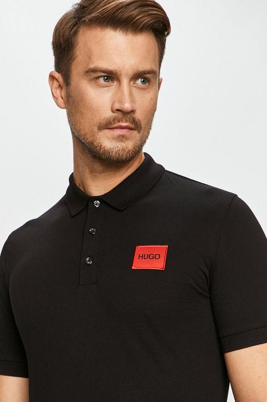 čierna Hugo - Polo tričko