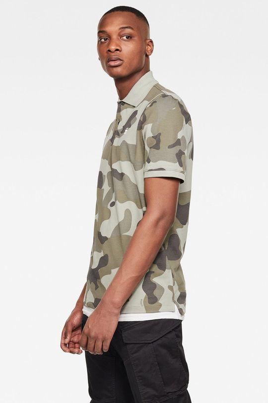 G-Star Raw - Polo tričko khaki