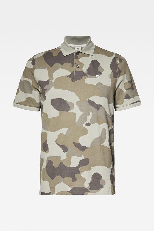 khaki G-Star Raw - Polo tričko