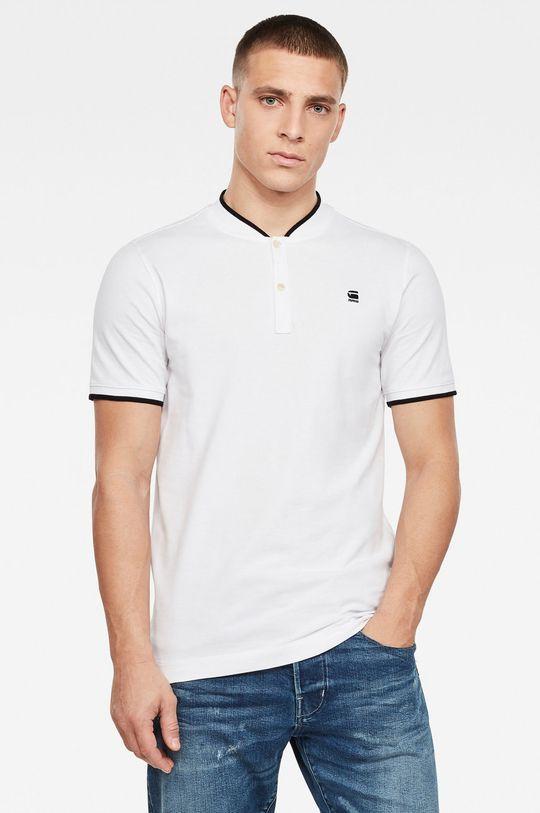 bílá G-Star Raw - Polo tričko Pánský