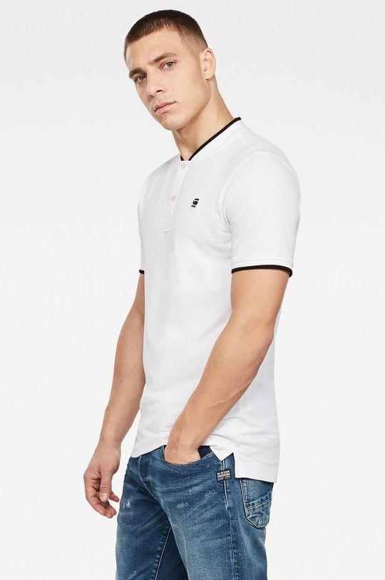 G-Star Raw - Polo tričko bílá