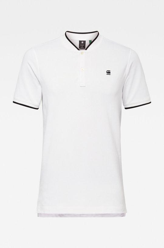 bílá G-Star Raw - Polo tričko