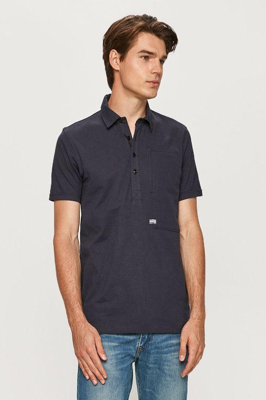 námořnická modř G-Star Raw - Polo tričko Pánský