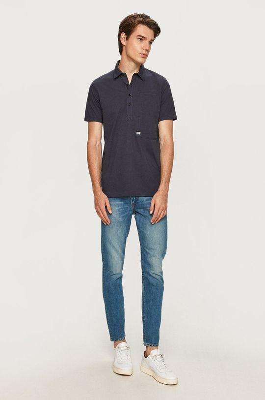 G-Star Raw - Polo tričko námořnická modř