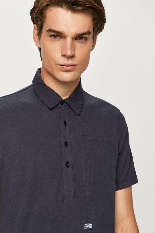 námořnická modř G-Star Raw - Polo tričko