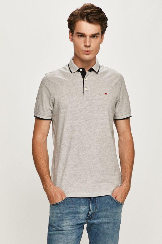 svetlosivá Produkt by Jack & Jones - Polo tričko Pánsky