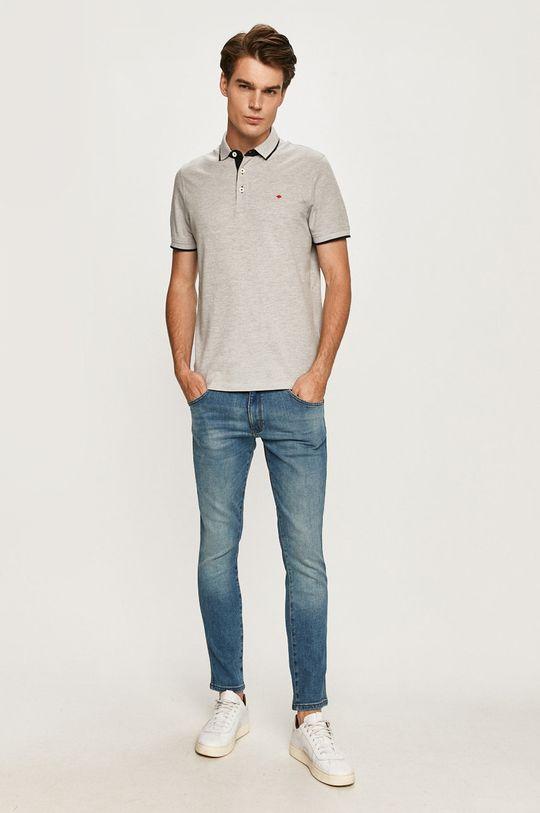 Produkt by Jack & Jones - Polo tričko svetlosivá