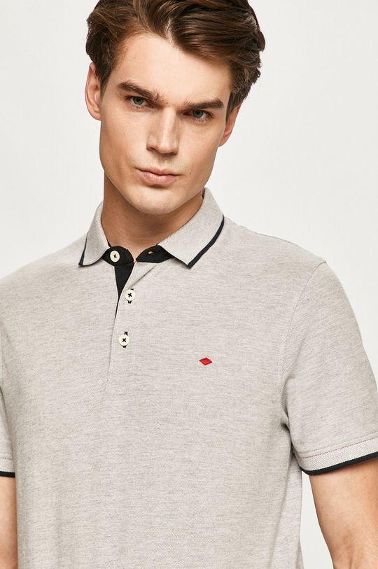 svetlosivá Produkt by Jack & Jones - Polo tričko