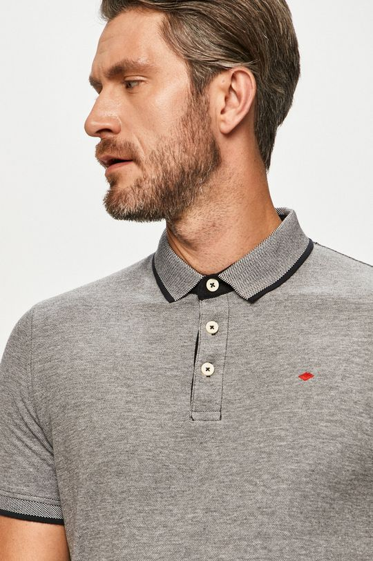 Produkt by Jack & Jones - Tricou Polo negru