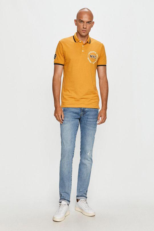 Produkt by Jack & Jones - Polo tričko jantárová