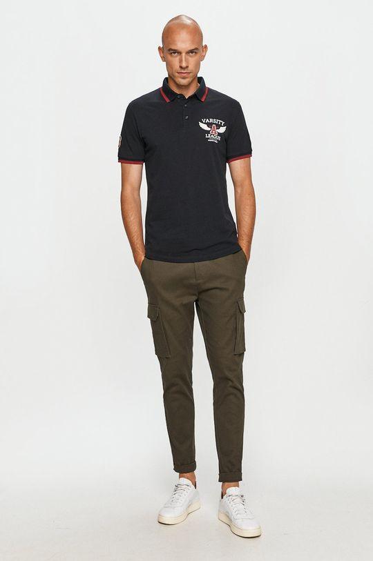 Produkt by Jack & Jones - Polo tričko tmavomodrá