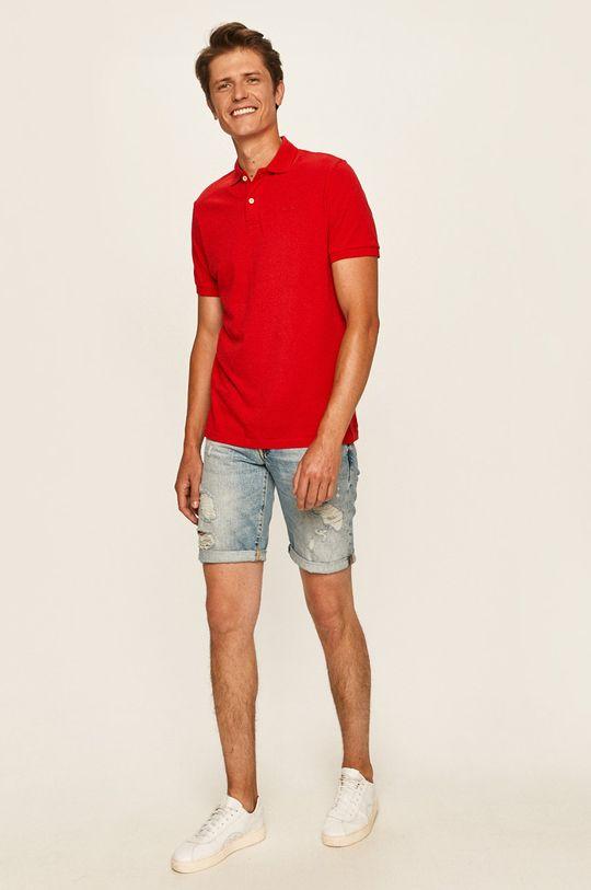 Pepe Jeans - Polo tričko Romero červená