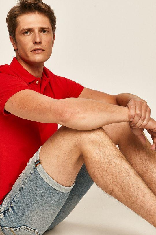 červená Pepe Jeans - Polo tričko Romero