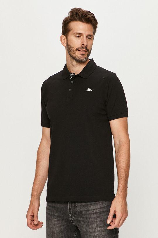 černá Kappa - Polo tričko Pánský