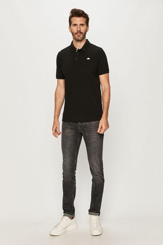 Kappa - Polo tričko černá