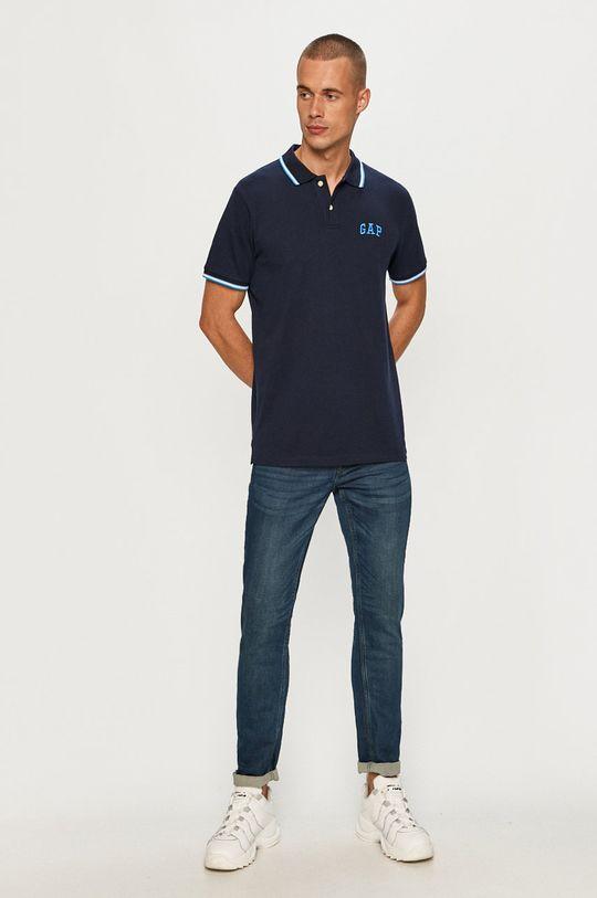 GAP - Polo tričko tmavomodrá