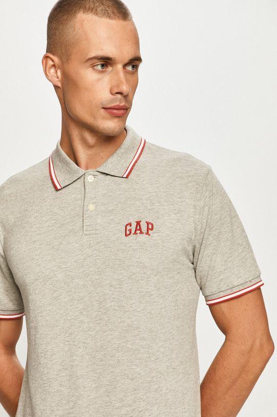 šedá GAP - Polo tričko