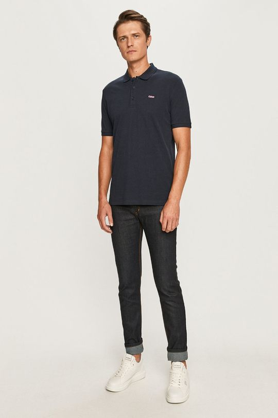 Hugo - Polo tričko tmavomodrá