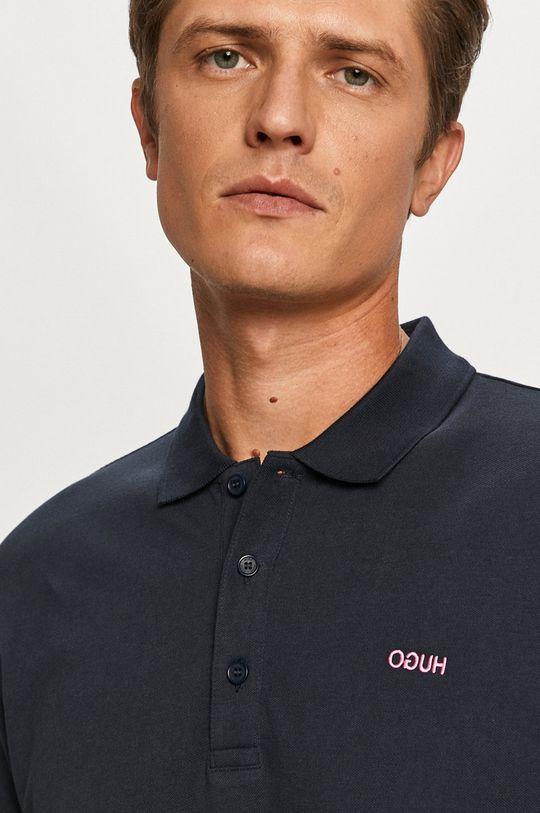 tmavomodrá Hugo - Polo tričko