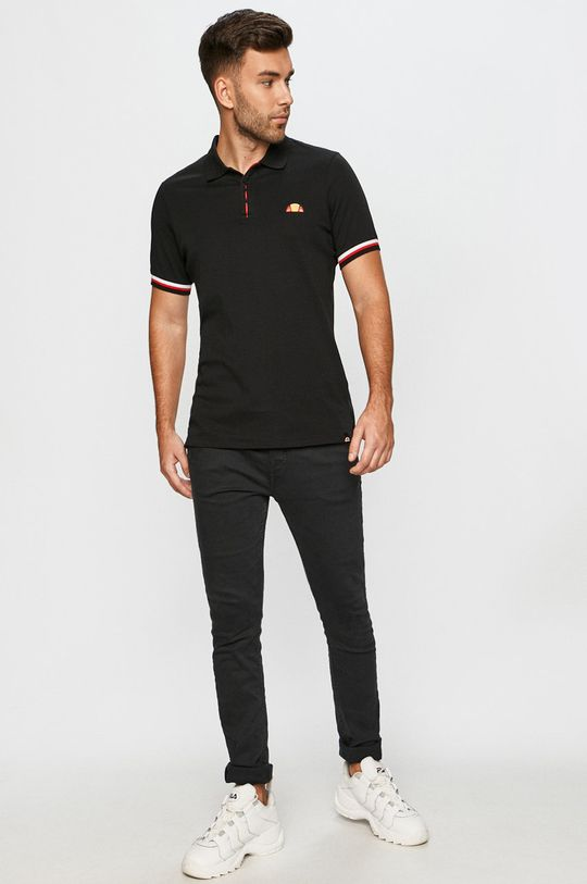 Ellesse - Polo tričko černá