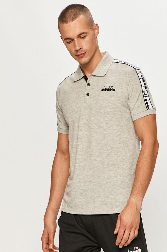 sivá Diadora - Polo tričko