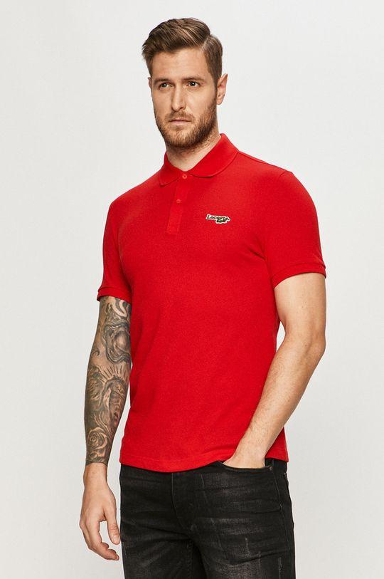 červená Lacoste - Polo tričko Pánský