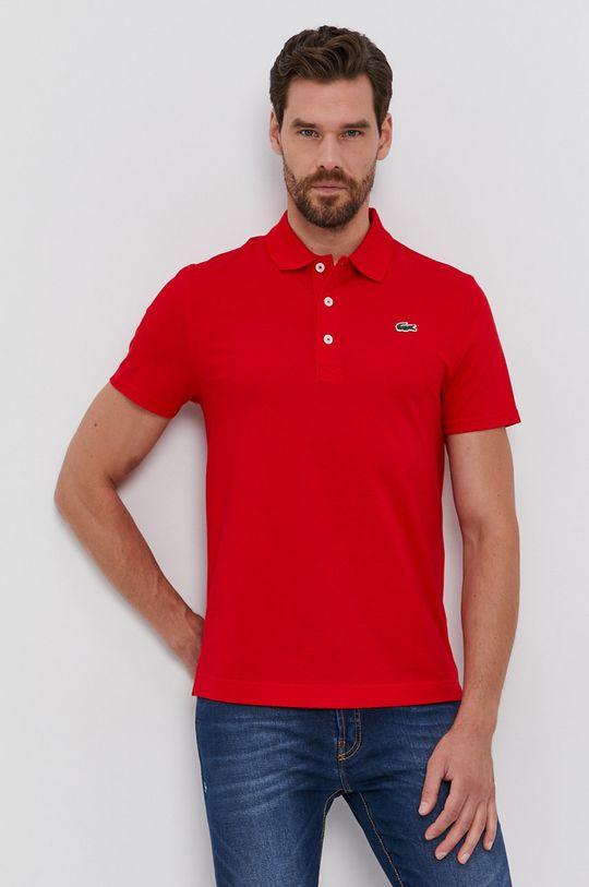 červená Lacoste - Polo tričko