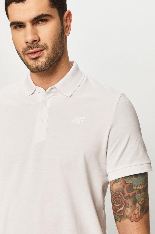 bílá 4F - Polo tričko