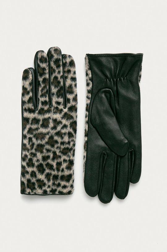 tělová Pieces - Kožené rukavice Dámský