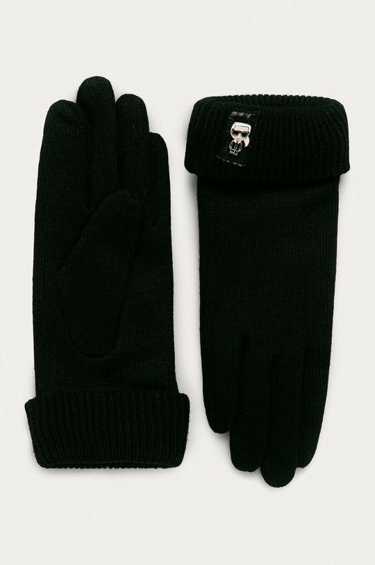 čierna Karl Lagerfeld - Rukavice Dámsky