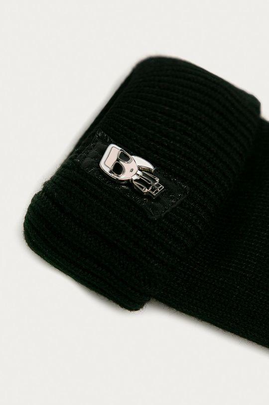 Karl Lagerfeld - Rukavice čierna