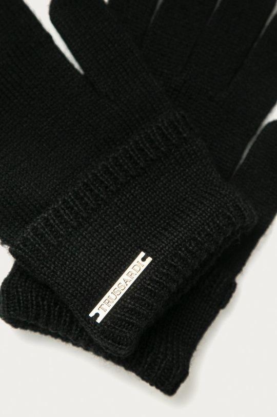 Trussardi Jeans - Rukavice černá