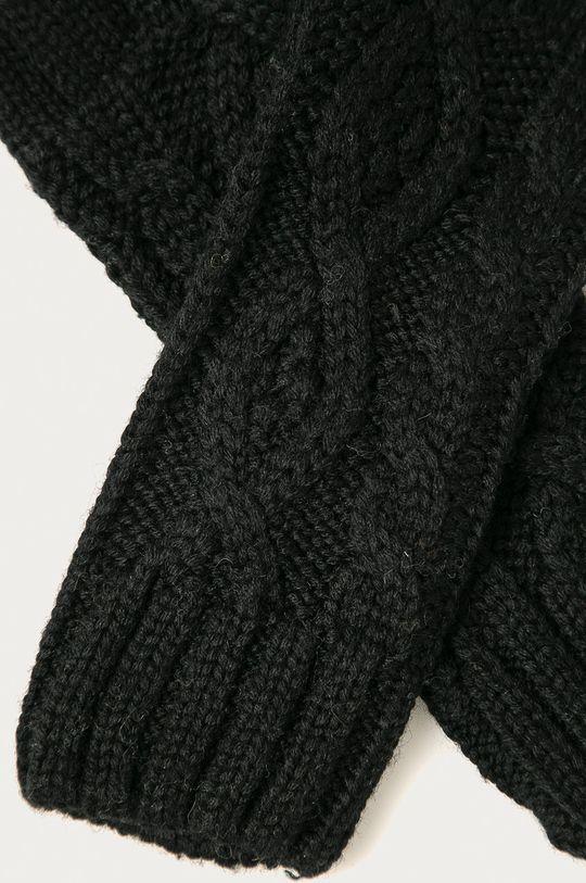 Stefanel - Rukavice čierna